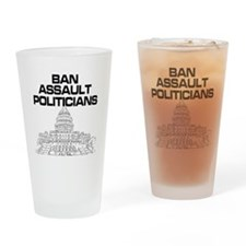 Cute Banned Drinking Glass