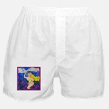 Lady Godiva Visits Texas Boxer Shorts