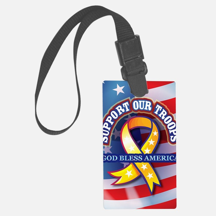 Support-Our-Troops Luggage Tag