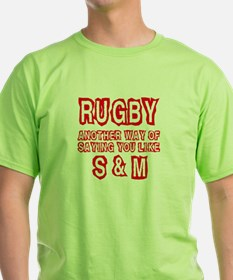 Rugby S & M T-Shirt