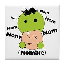 Nom Nom Nombie Tile Coaster
