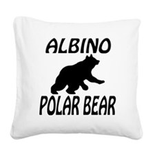polarbear Square Canvas Pillow