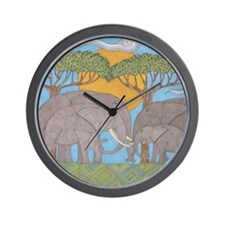 Family Bonds Wall Clock