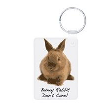 Bunny Rabbit Dont Care! Keychains