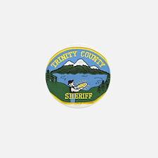 Trinity County Sheriff Mini Button