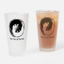 Ferret Bliss 4 Drinking Glass