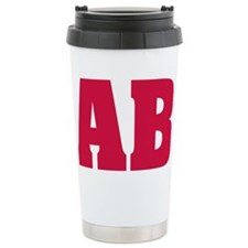 AlphaBeta Travel Coffee Mug