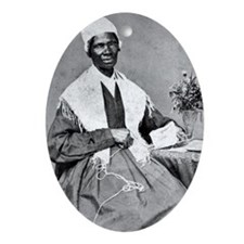 Sojourner Truth Oval Ornament