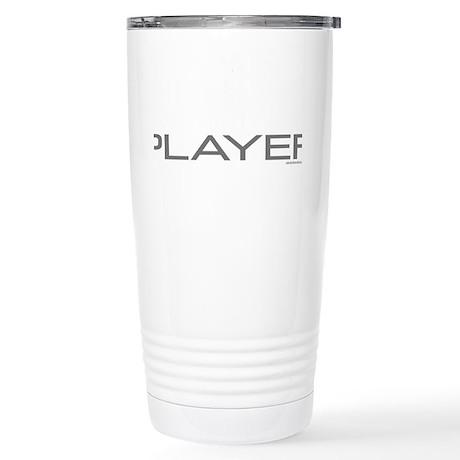 Uke Player Stainless Steel Travel Mug