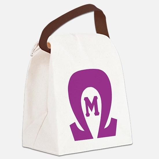 OmegaMu Canvas Lunch Bag