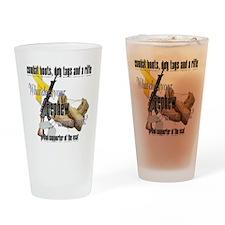 nephewUSAF Drinking Glass