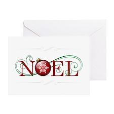 Joyous Noel Greeting Card