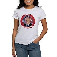 Rudy Giuliani (Front) Women's T-Shirt