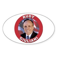 Rudy Giuliani Oval Decal