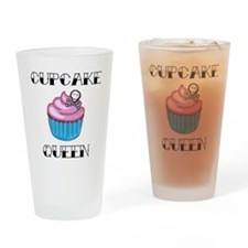 Cupcake Queen2 Drinking Glass