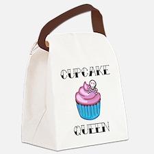 Cupcake Queen2 Canvas Lunch Bag