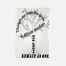 Family Roots Rectangle Magnet
