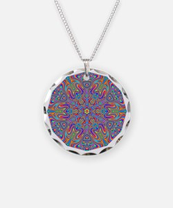 Digital Mandala 4 Necklace