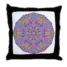Digital Mandala 4 Throw Pillow