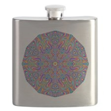 Digital Mandala 4 Flask