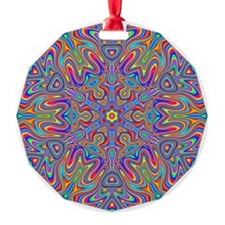 Digital Mandala 4 Ornament
