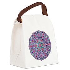 Digital Mandala 5 Canvas Lunch Bag
