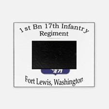 1st Bn 17th Infantry Picture Frame