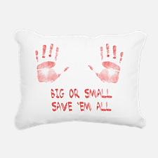Big or Small Rectangular Canvas Pillow