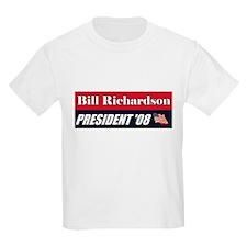 BILL RICHARDSON FOR PRESIDENT Kids T-Shirt