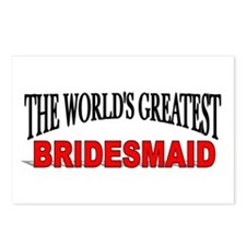 """""""The World's Greatest Bridesmaid"""" Postcards (Packa"""