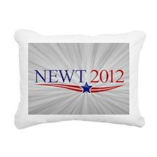 5x3oval_newt_official Rectangular Canvas Pillow