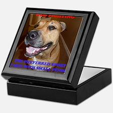 DOG FIGHTING2 Keepsake Box