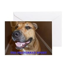DOG FIGHTING2 Greeting Card