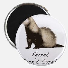 Ferret Dont Care! Magnet