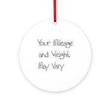 YMMV Round Ornament