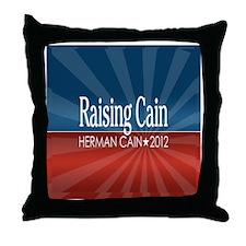2-25x2-25_button_RAISING_CAIN Throw Pillow