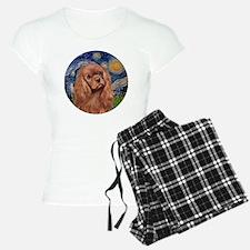 J-ORN-StarryNight-RubyCaval Pajamas