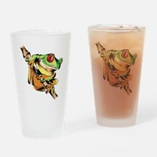 Tree frog Drinking Glass