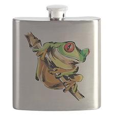 Tree frog Flask