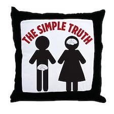 simpletruth Throw Pillow