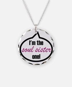 Im_the_soulsis Necklace Circle Charm