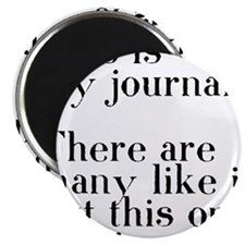 my journal Magnet