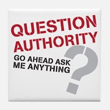 QUESTIONAUTHORITY Tile Coaster
