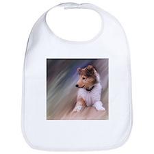 Collie Puppy Profile Bib
