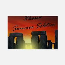 solstice-a Rectangle Magnet