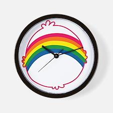 CareBear-Rainbow Wall Clock