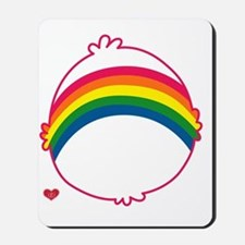 CareBear-Rainbow Mousepad