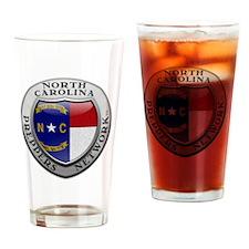 NorthCarolinaShield Drinking Glass