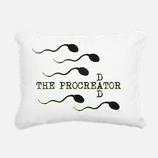 procreator Rectangular Canvas Pillow