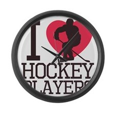 players Large Wall Clock